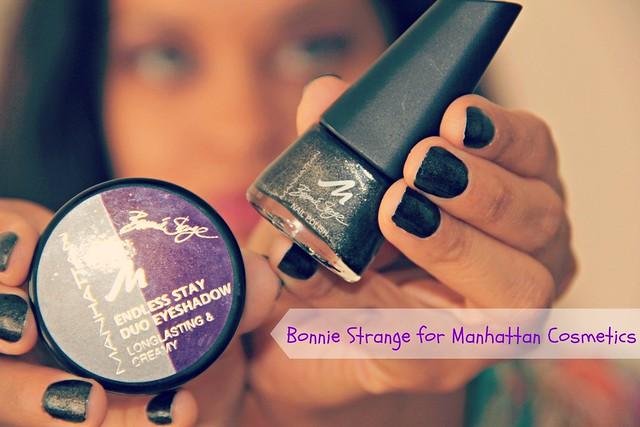 Bonnie Strange for Manhattan Cosmetics
