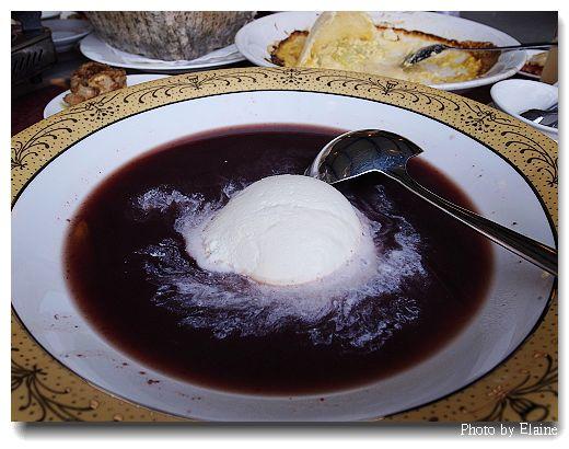甜點紫米粥
