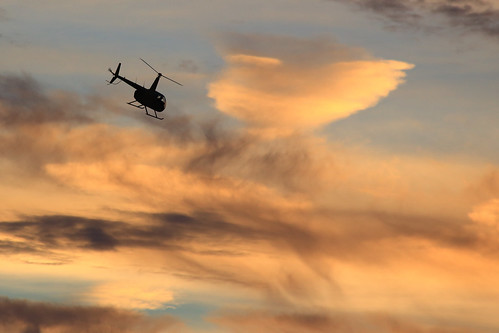 city sunset sky beach florida helicopter panama