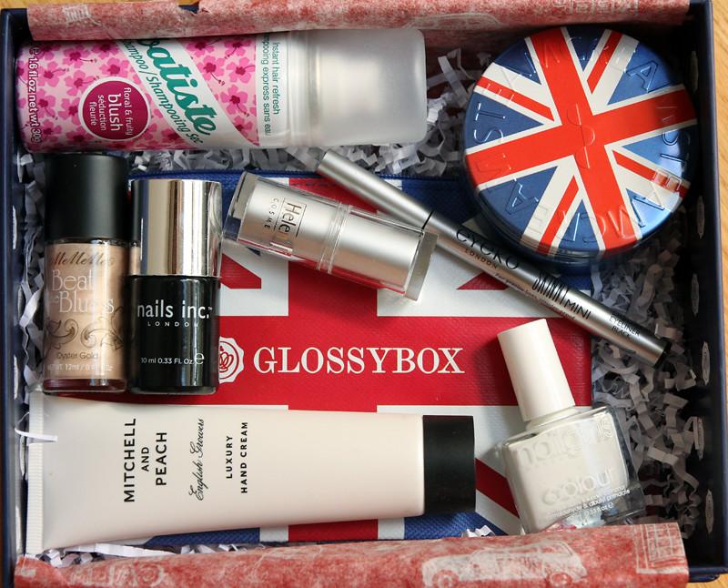 Glossybox london calling1