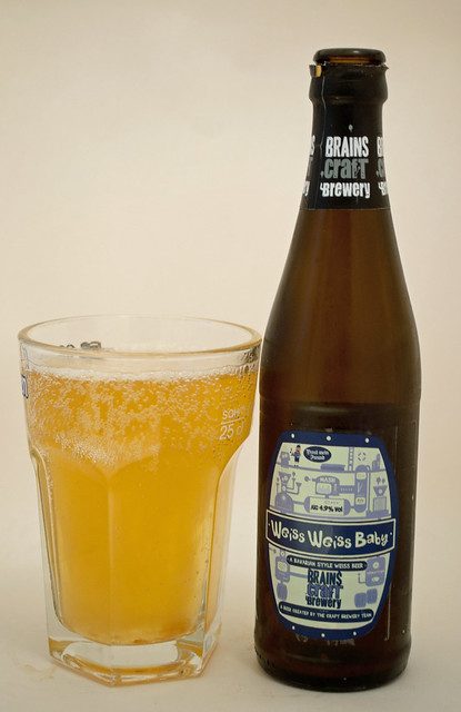 Brains Craft Brewery Weiss Weiss Baby