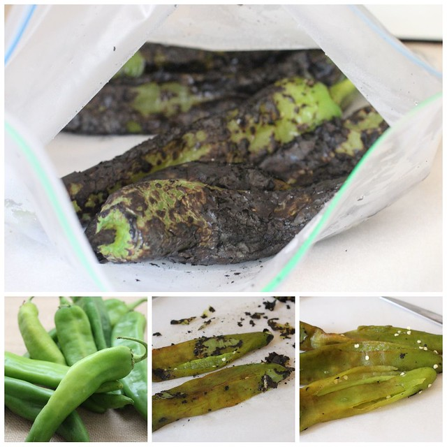Hatch Chile Roasting & Skinning