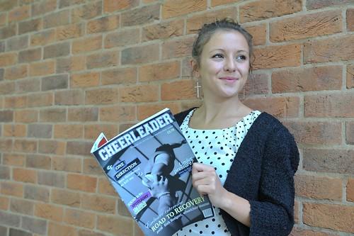 Award winning Journalism graduate Charlotte Corner, Leeds Metropolitan University