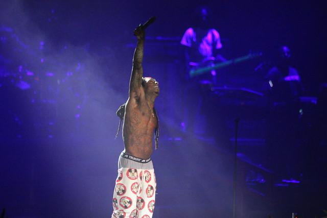 Lil Wayne, TI & 2 Chainz @ Cynthia Woods Mitchell Pavilion