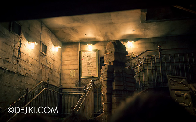 Tokyo DisneySea - Tower of Terror / The secret storage chamber