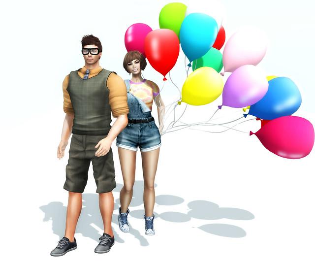 SL Disney Bound – Week 23: Carl & Ellie