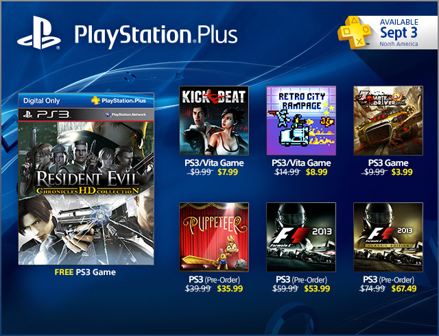 PlayStation Plus Update 9-3-2013