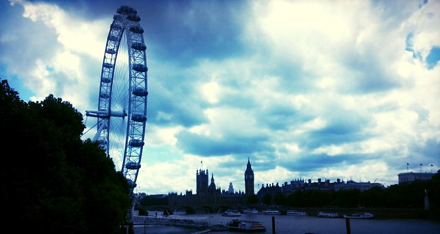 The view from the Southbank