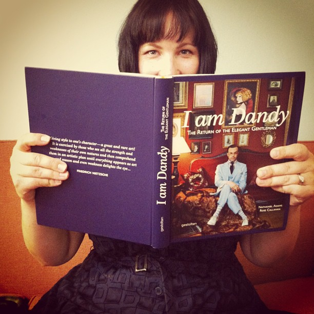 Happy beyond belief with the book. Life is but a wonderful dream! #IamDandy