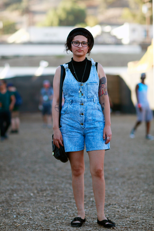 acidwashromper_fyf FYF Fest, L.A. State Historic Park, LA, music, street fashion, street style, women