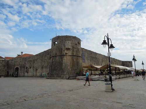Budvaの城壁