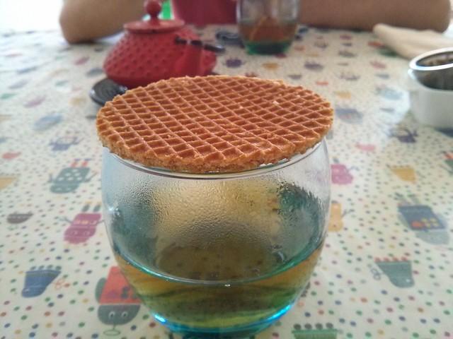 tapa té - Stroopwafel