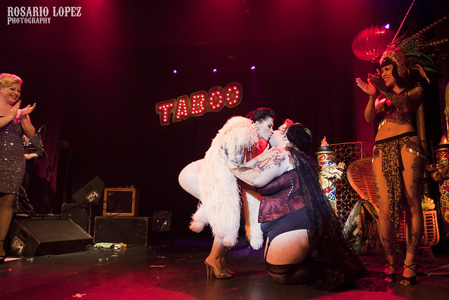 The kiss - LouLou D'VIl & Madame Taboo