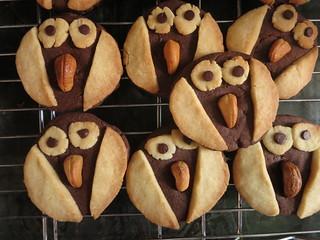 Owl Sablé Cookies