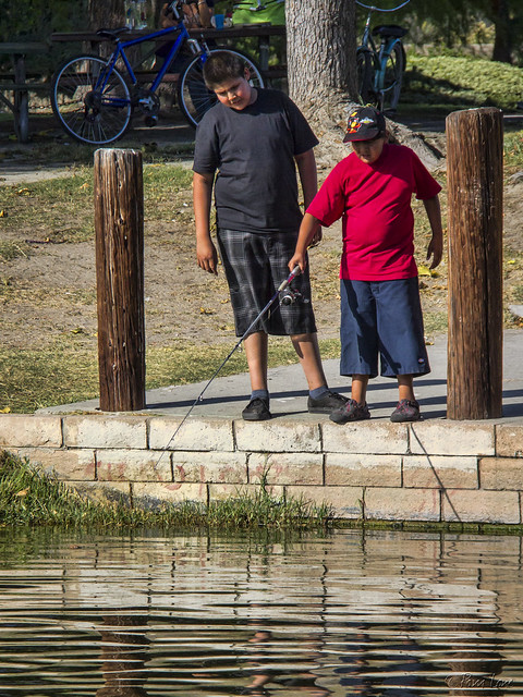 Fishing at Wilderness Park
