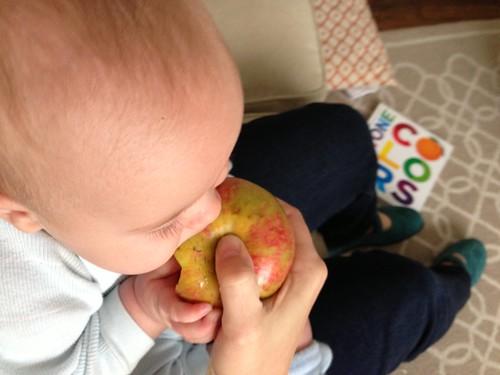 More Apple For Me! by carolinearmijo