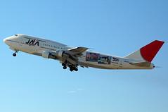 JA8185 'Yokoso! Japan' Boeing 747-346 Japan Asia Airways (JAA)