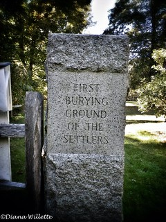 First Burying Ground of the First Settlers of Newbury, MA