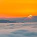 Space Needle in Cloud, Seattle, Washington by shadow1621