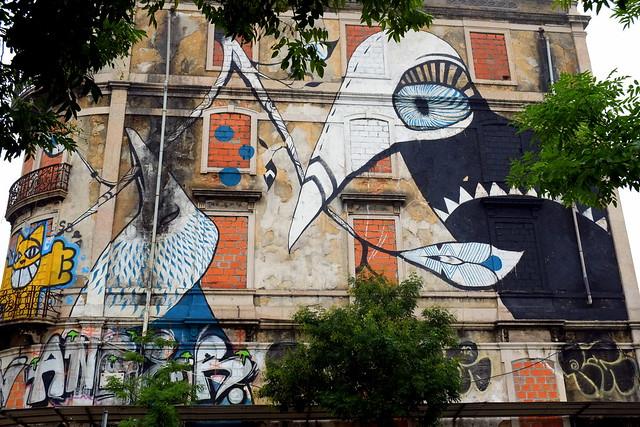 mural . crono project | Lucy Mclauchlan | lisbon