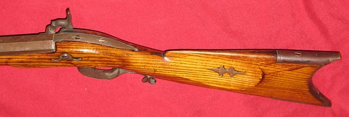 Mills & Thompson Rifle -Made In Jo Daviess County, Illinois, Circa 1850