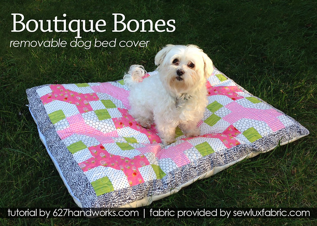 Removable Dog Bed Cover Pattern