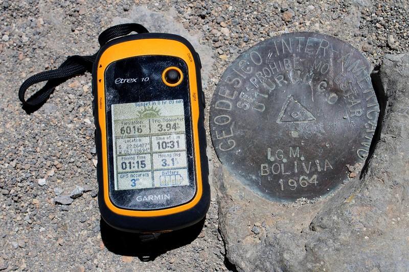 On the summit of Uturuncu
