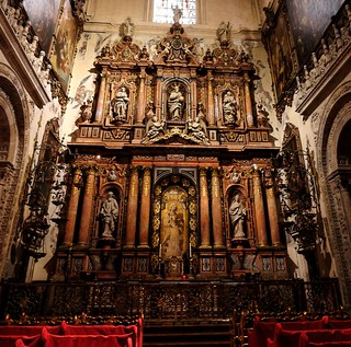 One of the Chapels at Seville Cathedral, Seville,Spain