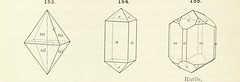 """British Library digitised image from page 74 of """"A Text-Book of Mineralogy. With an extended treatise on crystallography and physical mineralogy ... on the plan and with the co-operation of ... James D. Dana ... With ... woodcuts ... Newly revised and enl"""