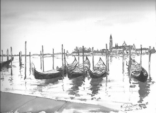 gondolas by mikel.quintana