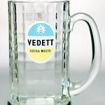 ベルギービール大好き!!【ヴェデット・エクストラ・ホワイトの専用グラス】(管理人所有 )