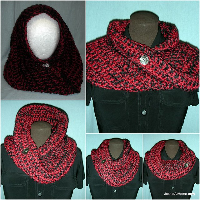 Ali Mobius Cowl Worsted Weight Free Crochet Pattern Jessie At Home