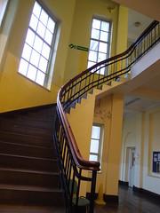 Bradford College stairway