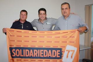 Vereador Juninho da Prefeitura, David Martins e Habdo Miguel