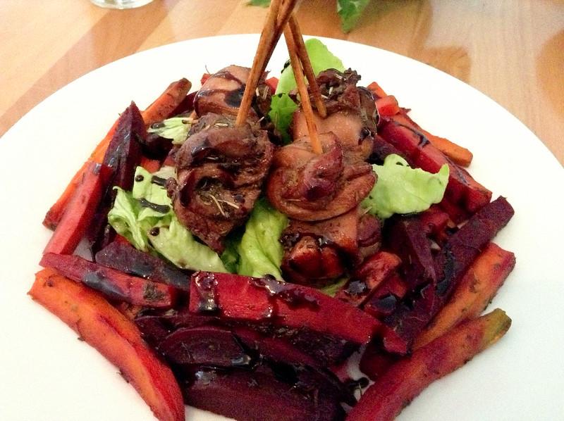 Becca's Kitchen: chicken and various root veggies
