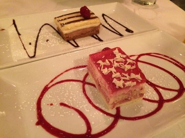 Dessert duo - Cafe Bastille