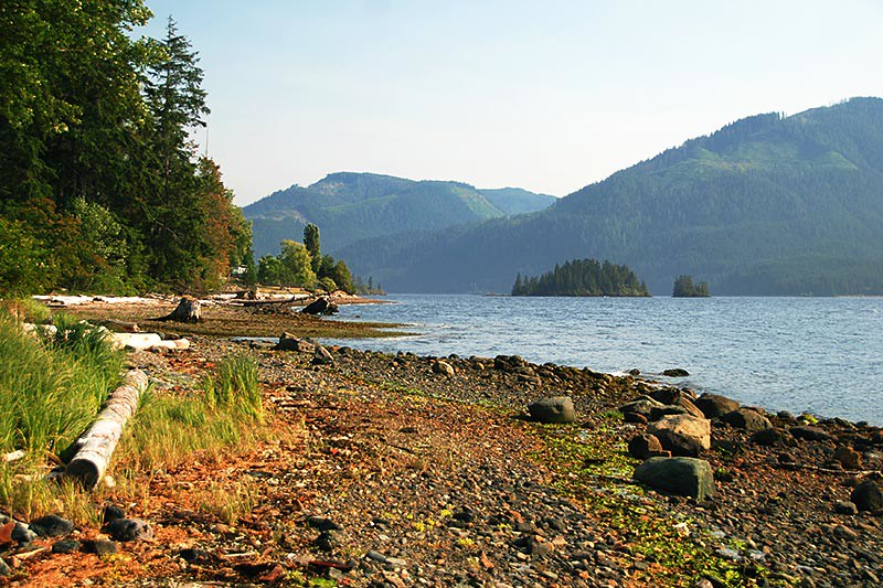 Neroutsos Inlet at Port Alice, Vancouver Island, British Columbia, Canada