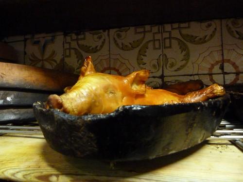 Cochinillo, la especialidad de Casa Botín
