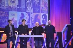Marcel Barrena, Víctor Correal, Adrià Cuatrecases i Oriol Maymó. Premi Gaudí al Millor Documental per