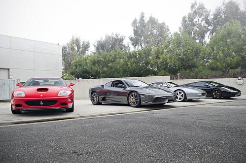 Ferrari rentals San Sebastian