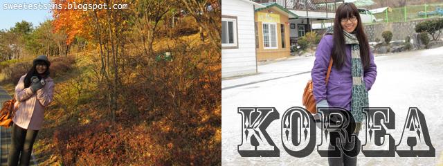 korea trip blog
