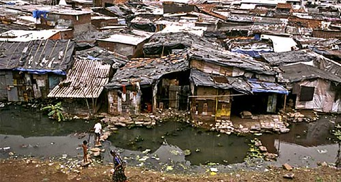Mumbai slum (courtesy of National Public Radio)