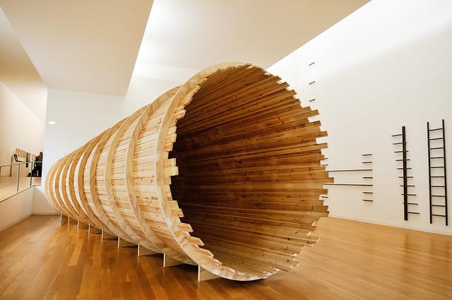 Entrevendo (Glimpsing; 1970-1994) by Cildo Meireles, Brazilian artist