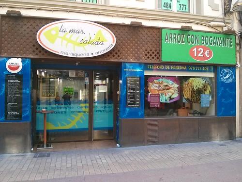 Zaragoza | La mar salada | Entrada
