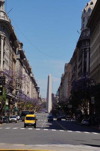 030 Plaza de Mayo - obelisk