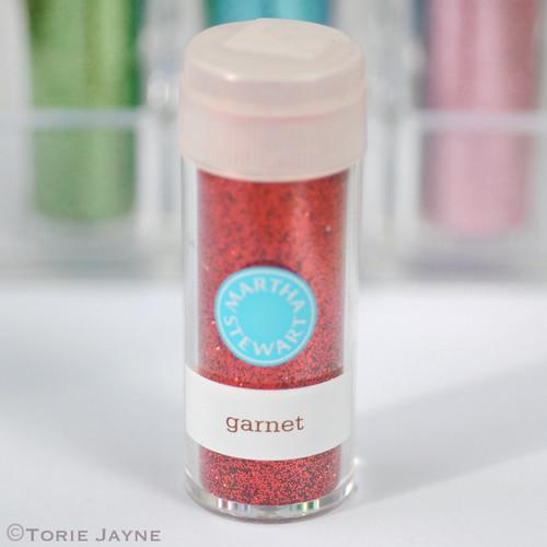 Ultra-fine glitter - garnet