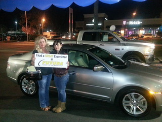 Sarah Parsons of Stockton, CA worked with Alex Panchenko to get her Certified PreOwned Ford Fusion SES. Thank you!!