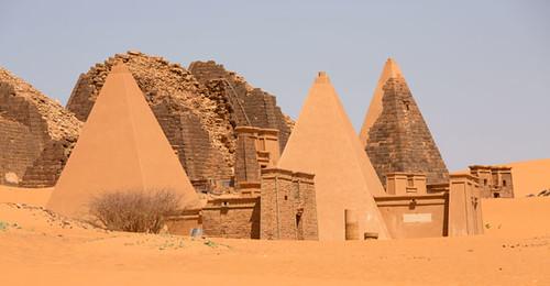 sudan pyramids mereo