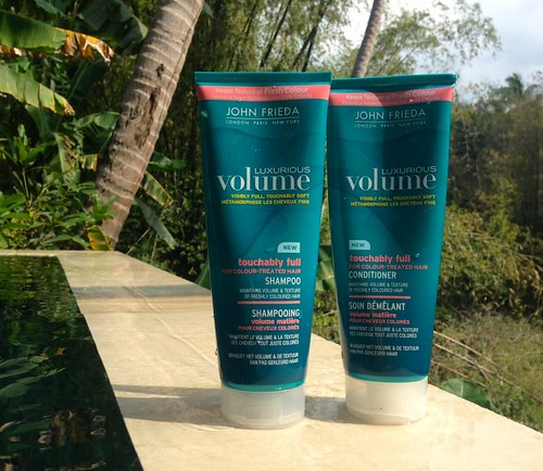 John Frieda Luxurious Volume Shampoo & Conditioner For Colour-Treated Hair