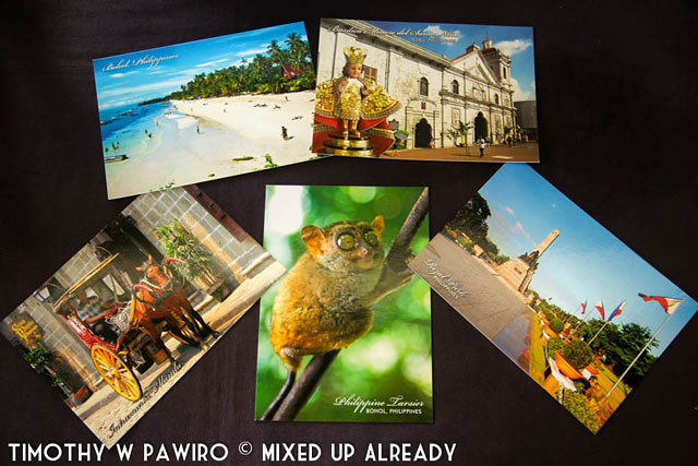 Asia - Philippines - Postcards - Giveaway